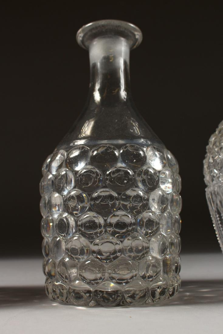 FOUR VARIOUS DECANTERS. - 3