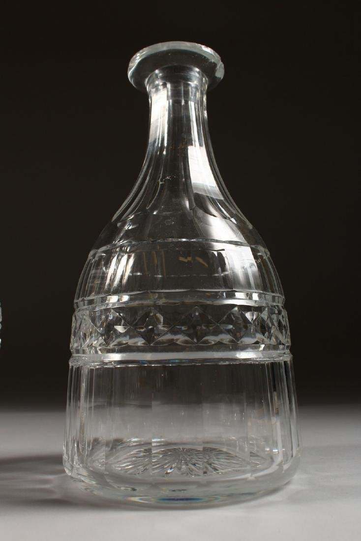 FOUR VARIOUS DECANTERS. - 5
