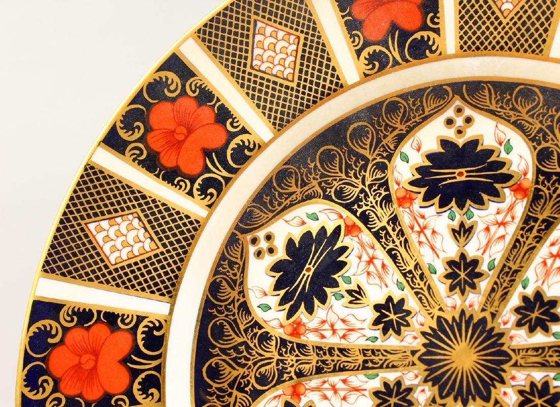 A ROYAL CROWN DERBY JAPAN PATTERN PLATE, Pattern 1128. - 2