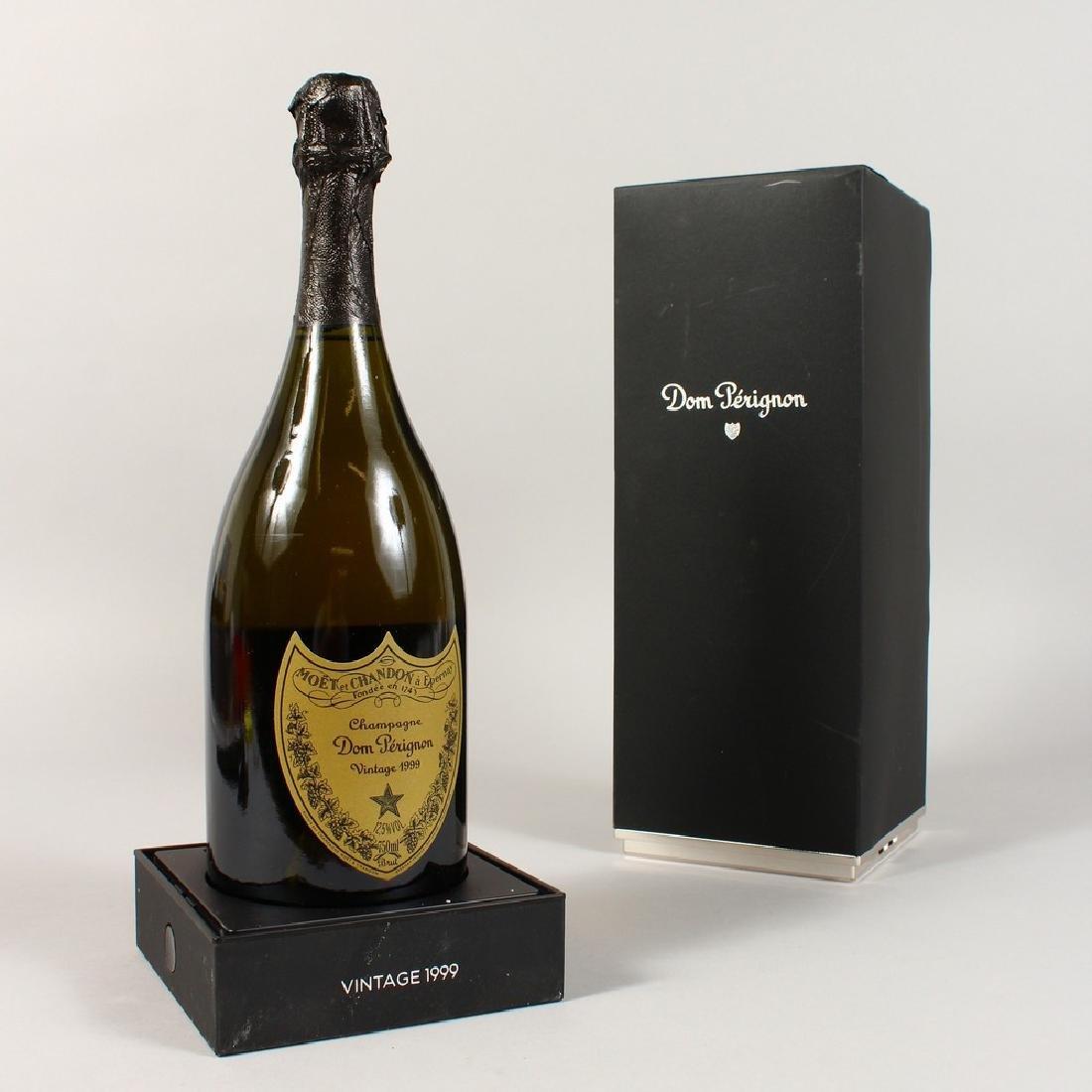 DOM PERIGNON, 1999, One Bottle, boxed.
