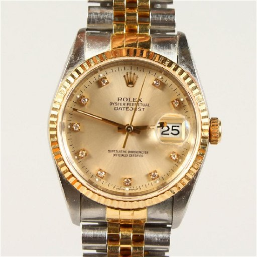 A Gentleman S Rolex Oyster Perpetual Datejust Watch