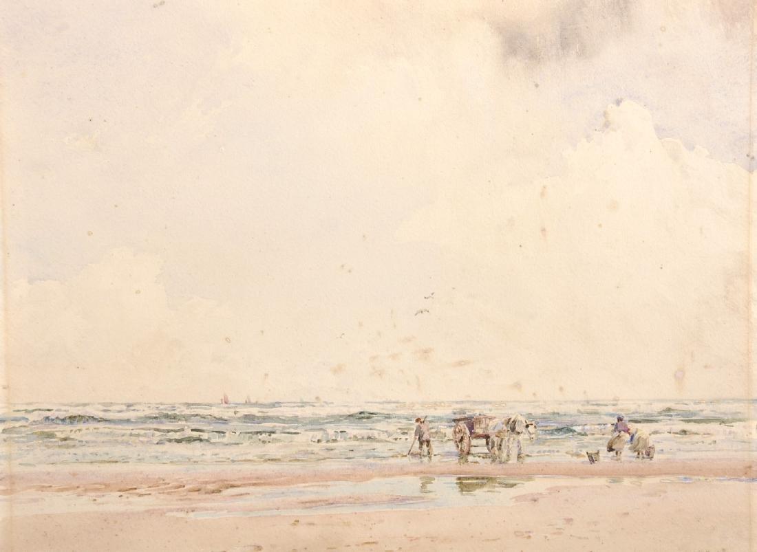 Herbert F. Royle (1870-1958) British. A Beach Scene