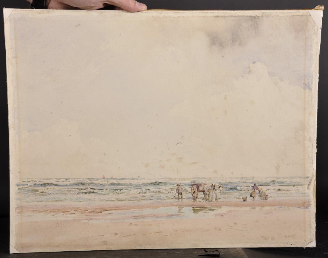 Herbert F. Royle (1870-1958) British. A Beach Scene - 2