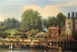 """Samuel Escott (19th Century) British. """"York"""