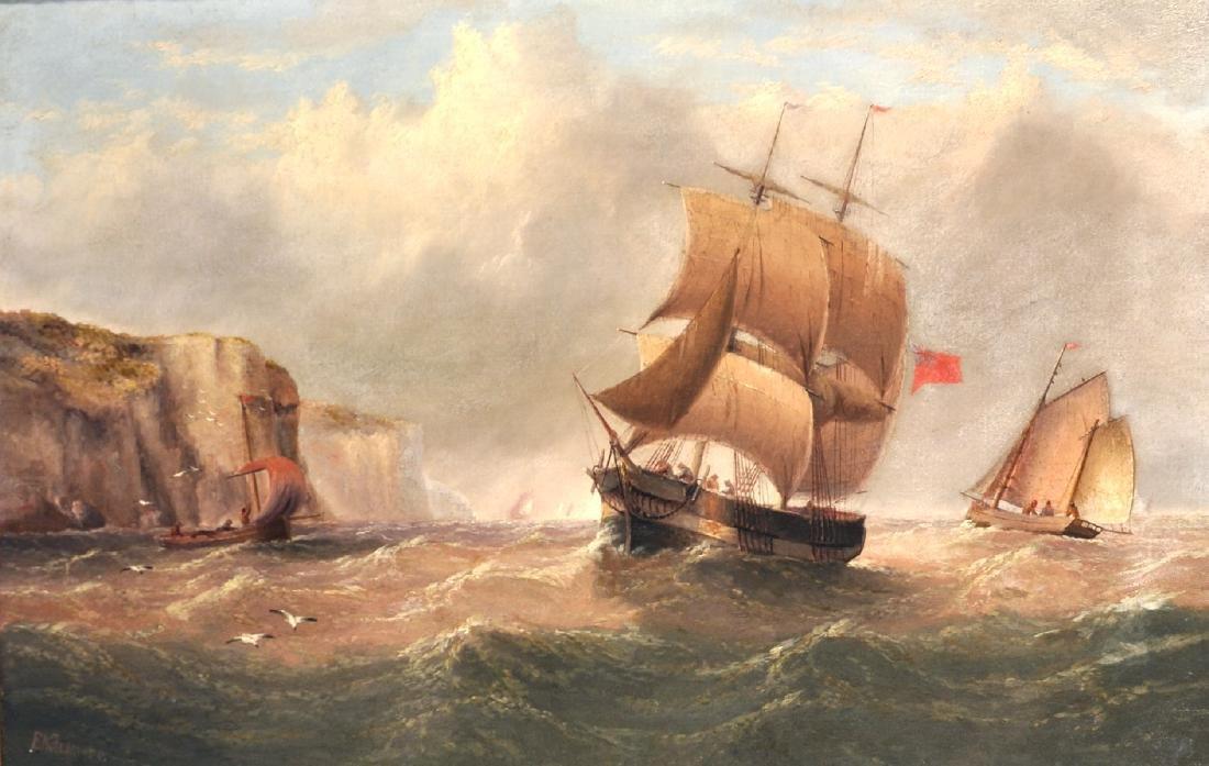 Edward King Redmore (1860-1941) British. A Coastal