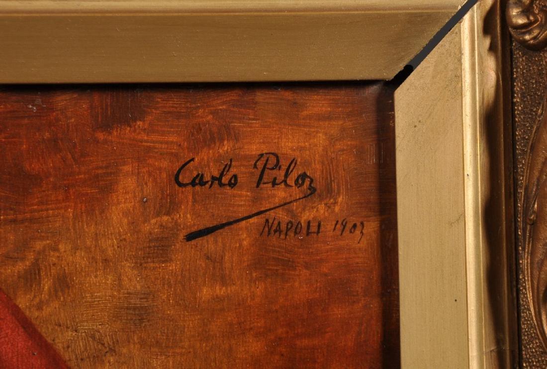 "Carlo Pila (19th - 20th Century) Italian. ""Portrait de - 3"