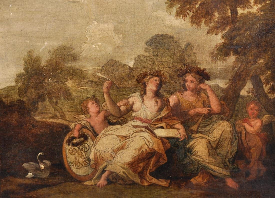 Early 19th Century French School. Allegorical Figures