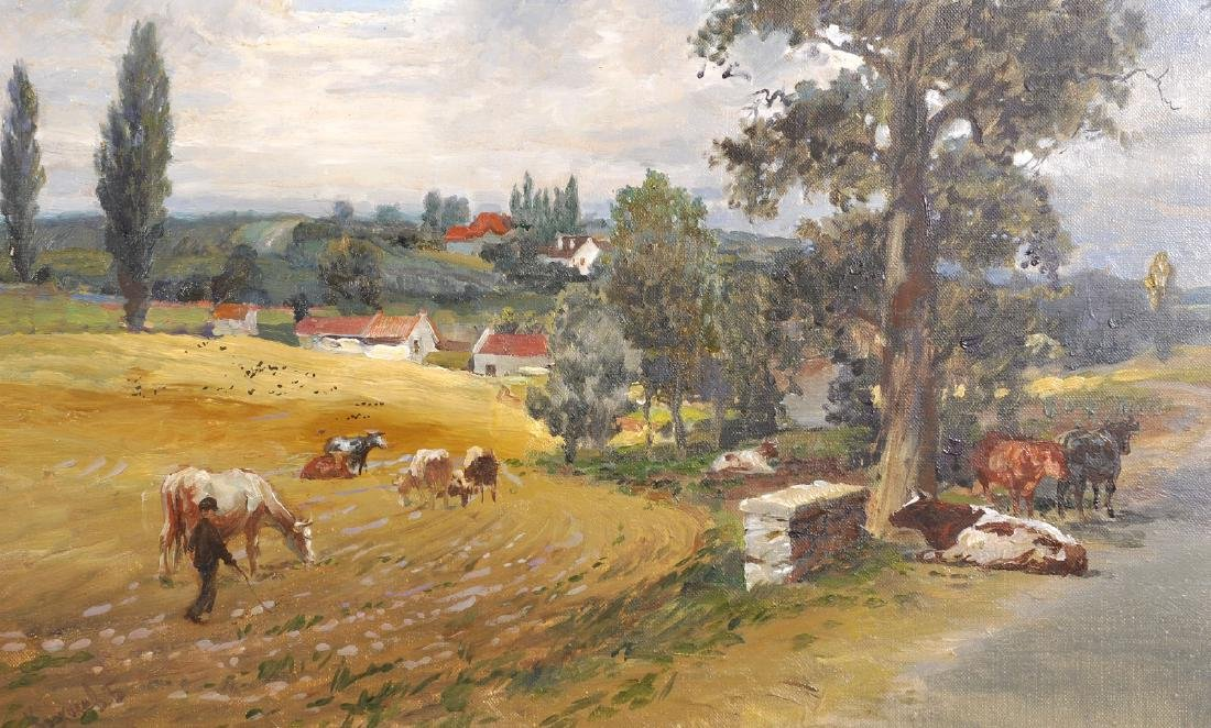 20th Century Russian School. A Landscape with a Drover