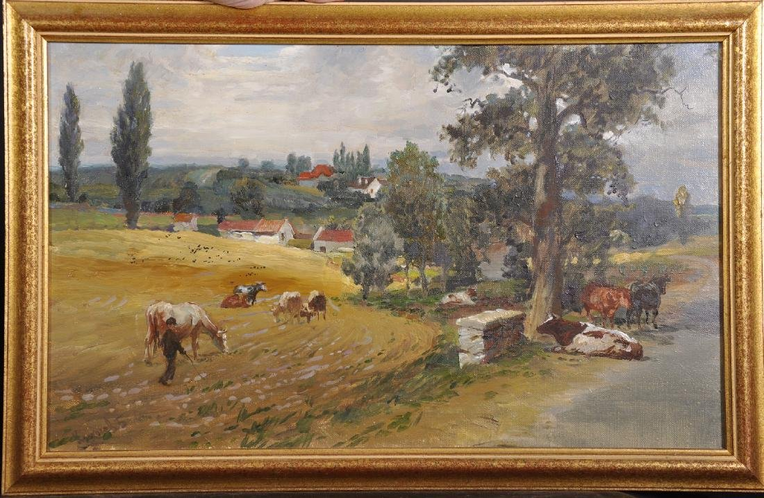 20th Century Russian School. A Landscape with a Drover - 2