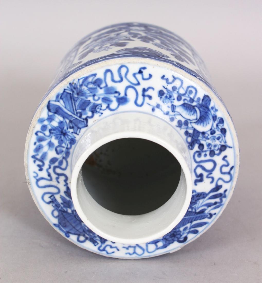 A 19TH CENTURY CHINESE BLUE & WHITE PORCELAIN TEA - 6