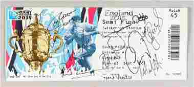 RUGBY WORLD CUP, ENGLAND SEMI FINAL TICKET, Saturday