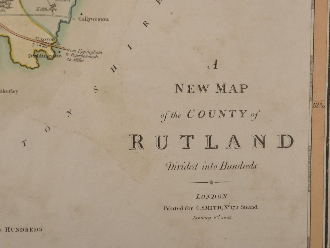 """Charles Smith (18th-19th Century) British. """"A New Map - 3"""