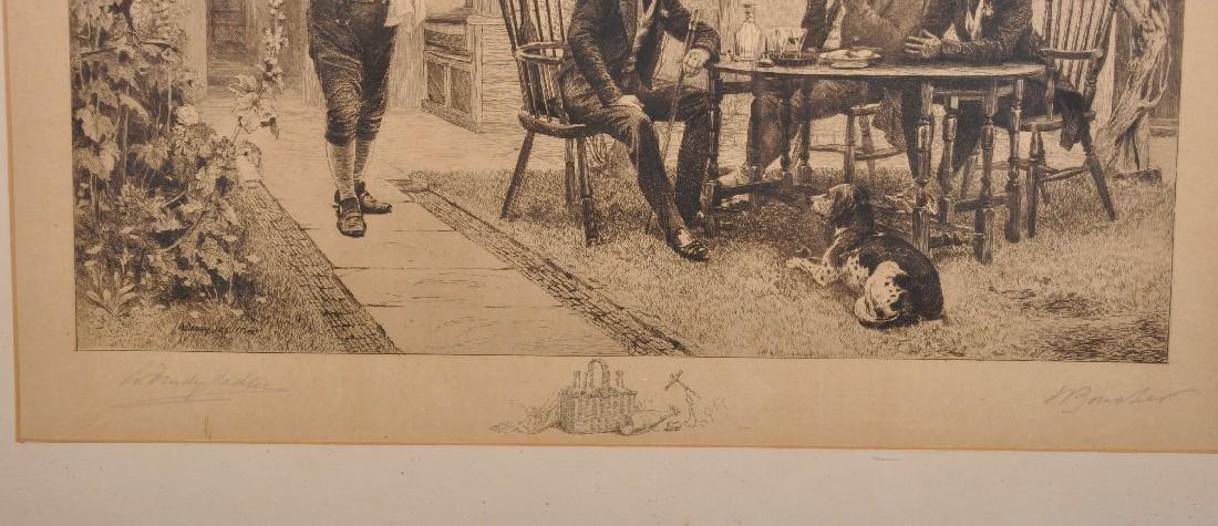 Walter Dendy Sadler (1854-1923) British and William - 3