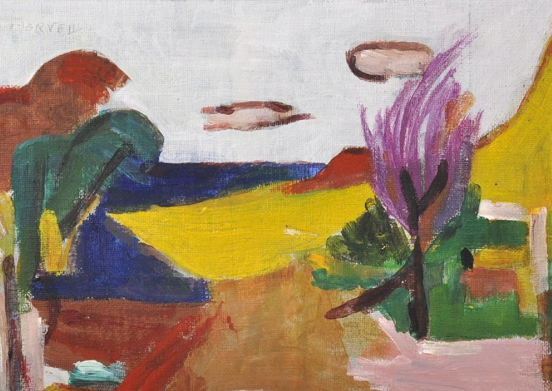 Marvell (20th Century) European. An Abstract Landscape,