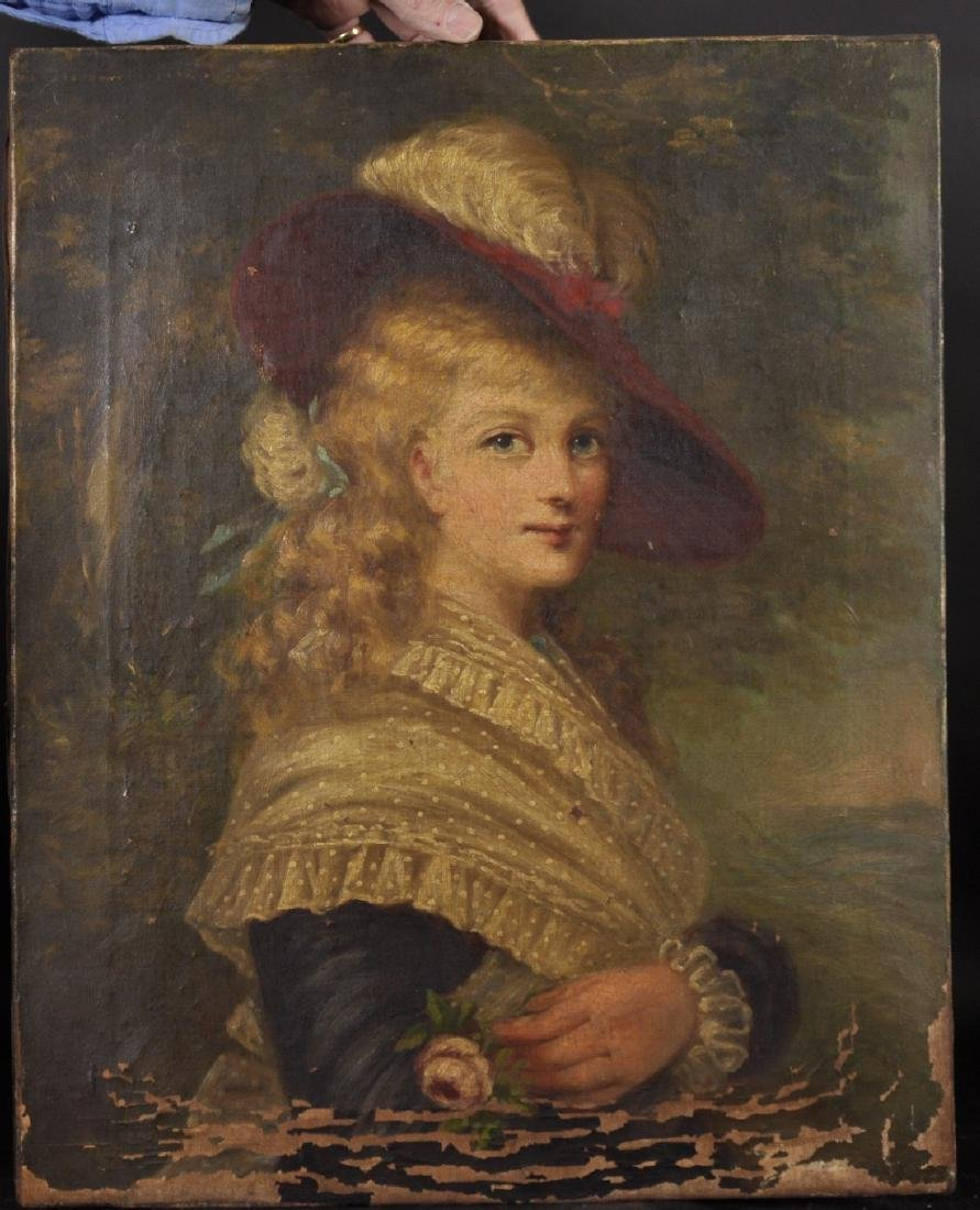 19th Century English School. Portrait of Georgina - 2