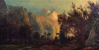 Henry Arthur Elkins (1847-1884) American. A Mountainous