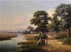 Walter Heath Williams (1835-1906) British. A River