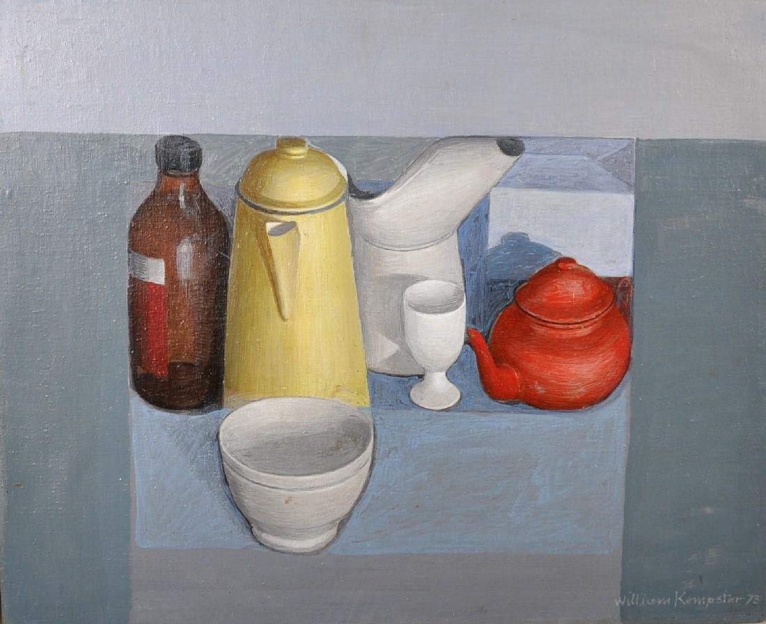 William Kempster (1914-1977) British. Still Life with a