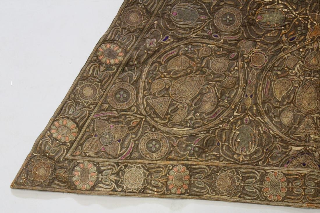 AN 18TH-19TH CENTURY OTTOMAN HORSE COVER, silk, - 2