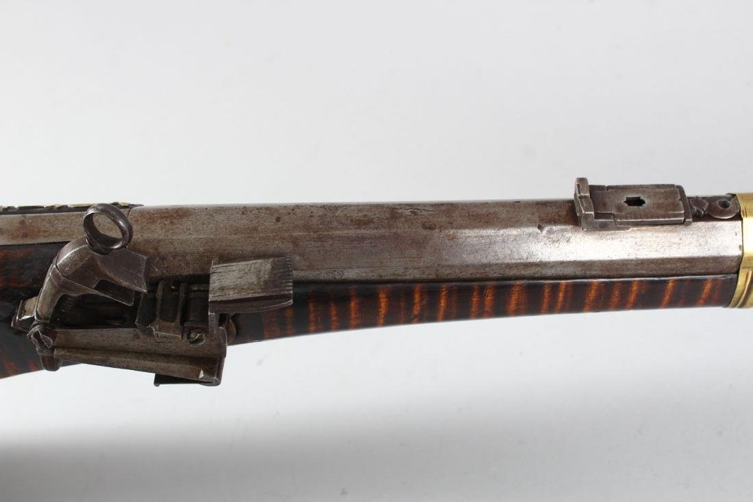 AN 18TH-19TH CENTURY OTTOMAN FLINTLOCK RIFLE with - 5