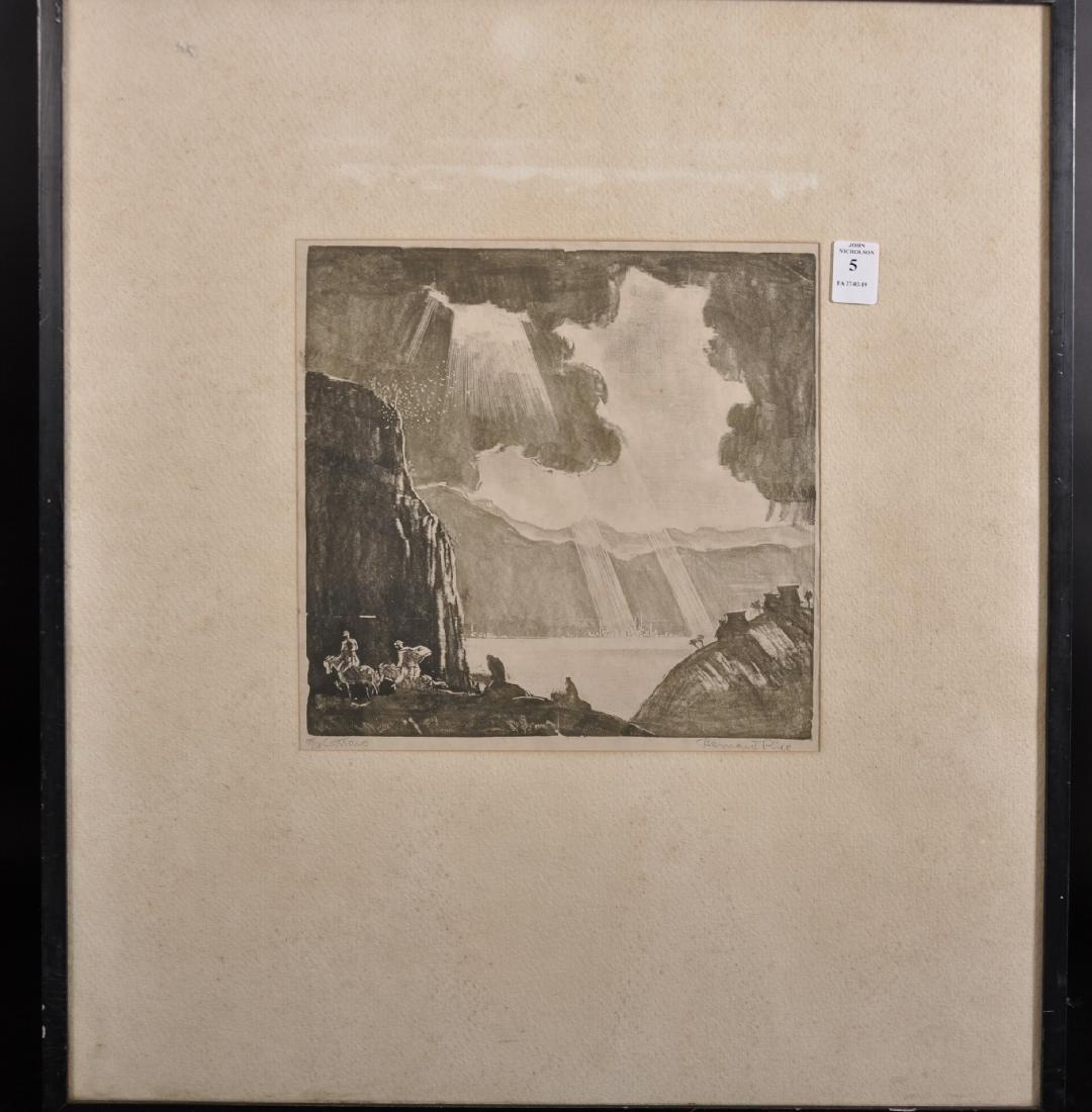 "Bernard Rice (1900-1998) Austrian/British. ""Cattaro"", - 2"