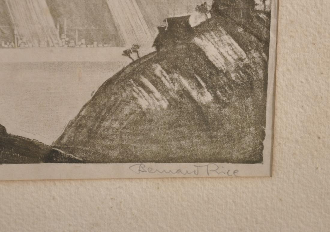 "Bernard Rice (1900-1998) Austrian/British. ""Cattaro"", - 4"