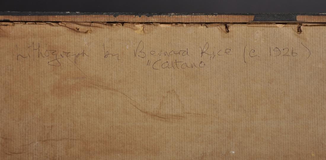 "Bernard Rice (1900-1998) Austrian/British. ""Cattaro"", - 6"