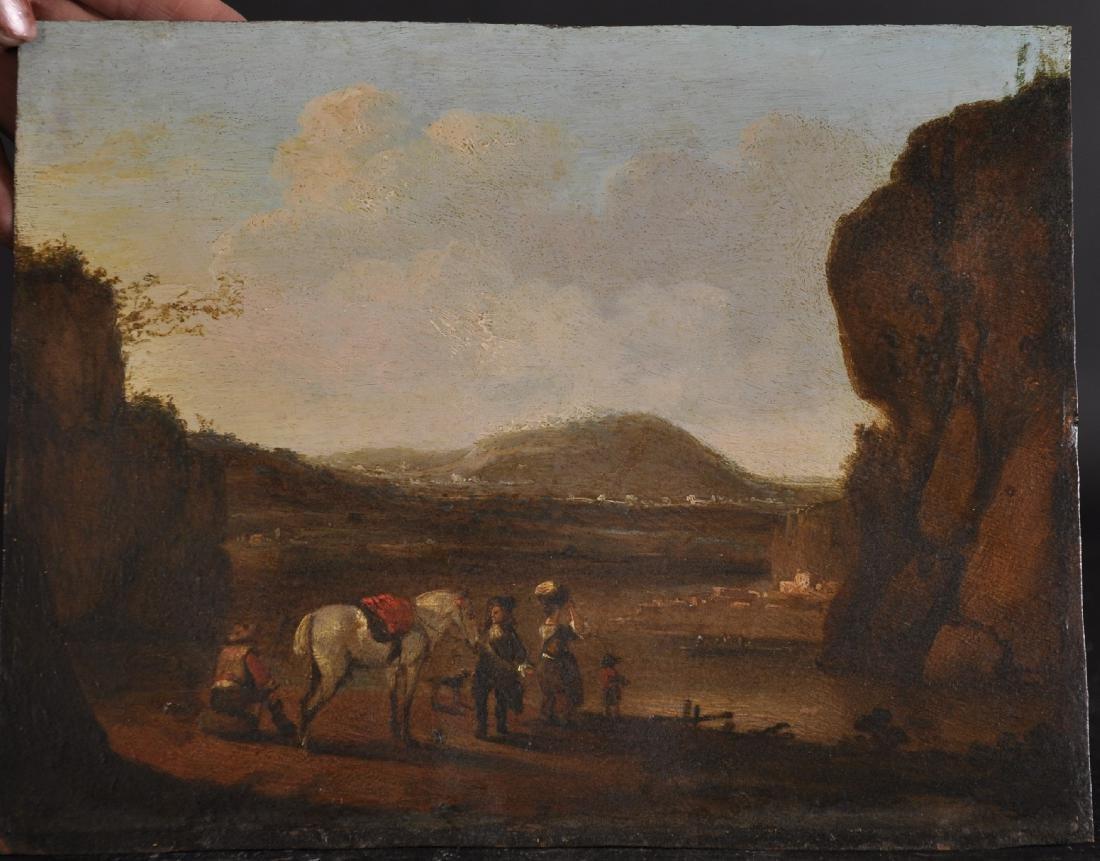 18th Century Dutch School. A Mountainous River - 2