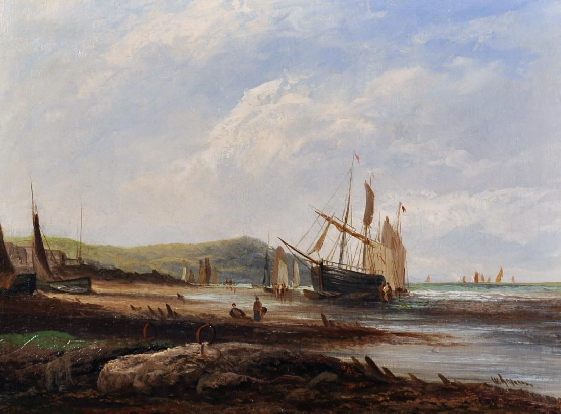 W...Graham (19th-20th Century) British. A Coastal Scene