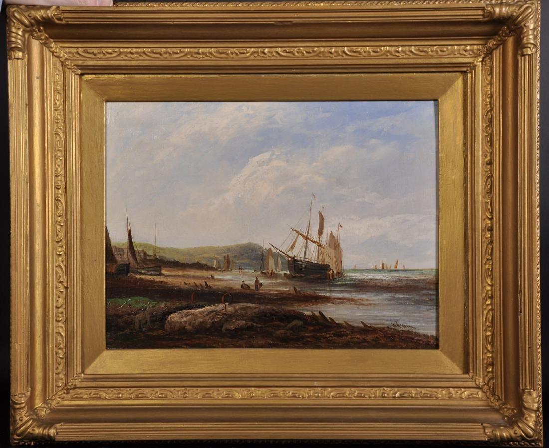 W...Graham (19th-20th Century) British. A Coastal Scene - 2