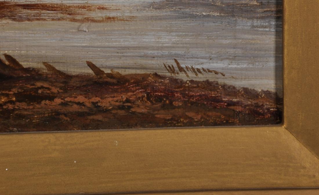 W...Graham (19th-20th Century) British. A Coastal Scene - 3