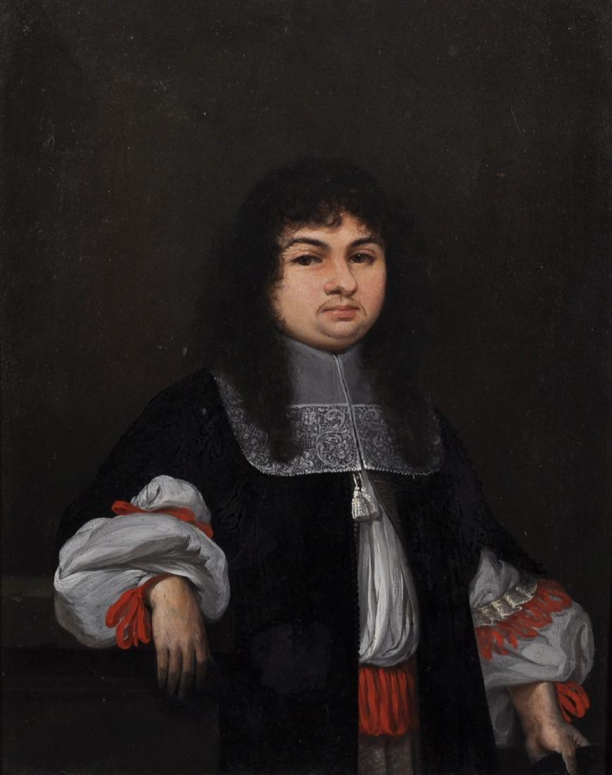 Elias Gedeler (1620-1693) German. Portrait of a