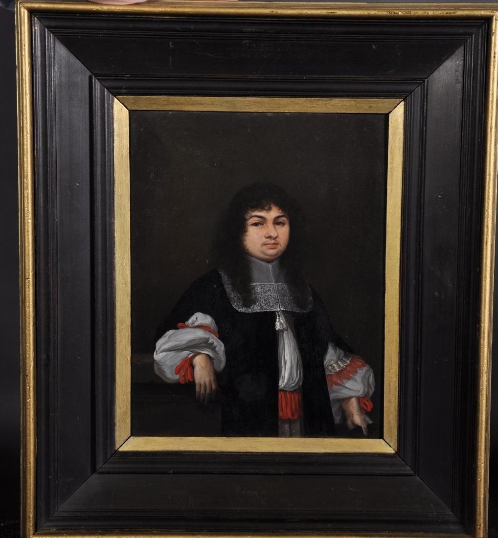 Elias Gedeler (1620-1693) German. Portrait of a - 2
