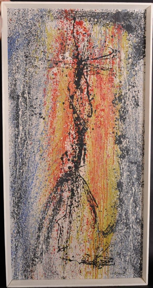"Gerald Davis (1938-2005) Irish. Abstract, ""Extensions - 2"