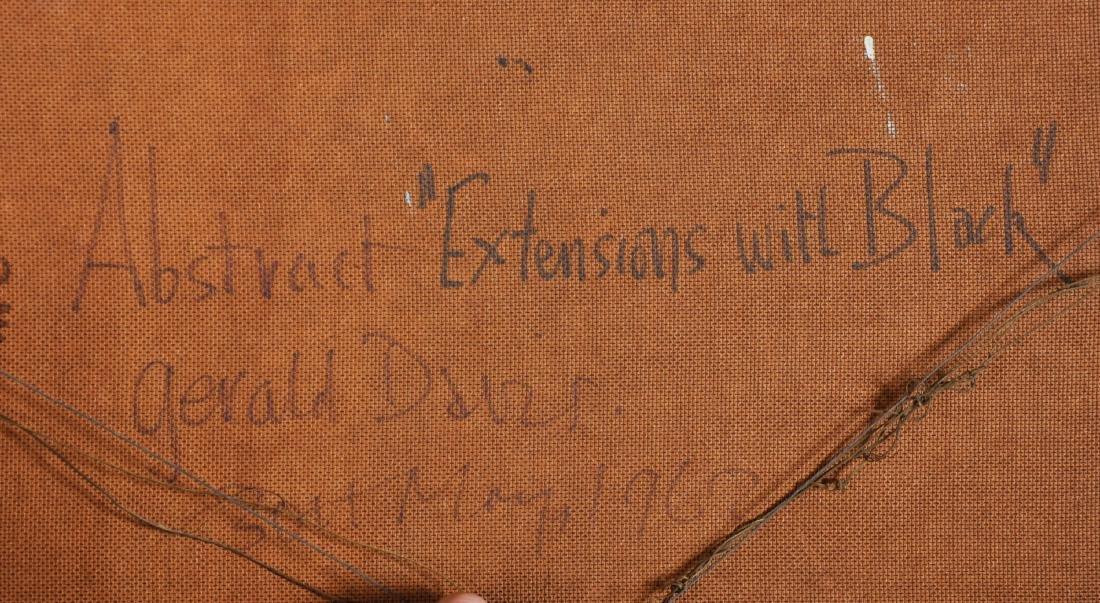 "Gerald Davis (1938-2005) Irish. Abstract, ""Extensions - 3"
