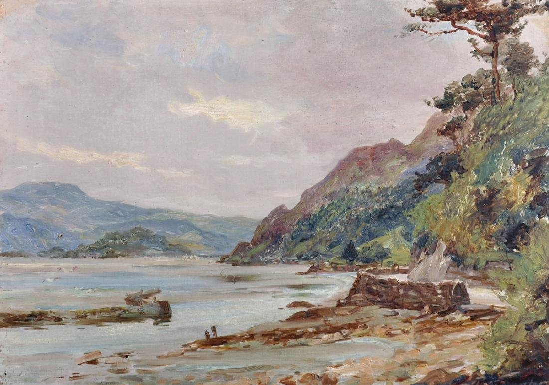 Robert Fowler (1853-1926) British. A Coastal Scene,