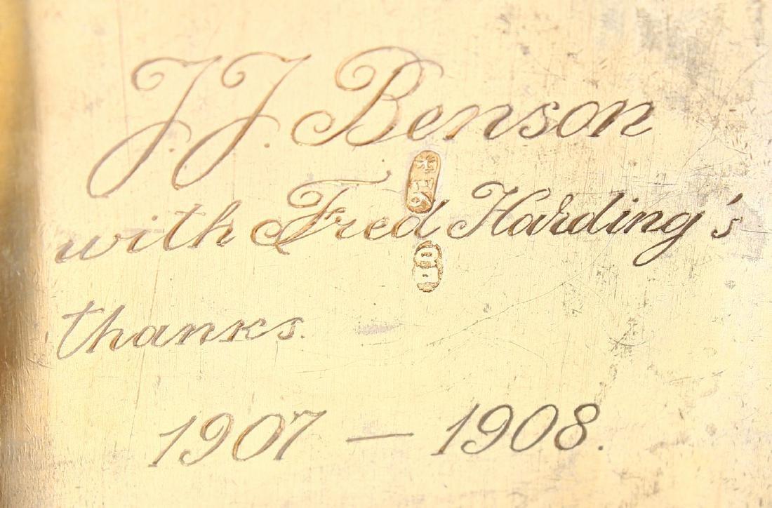 A RUSSIAN SILVER AND ENAMEL CIGARETTE CASE.  4.75ins x - 5