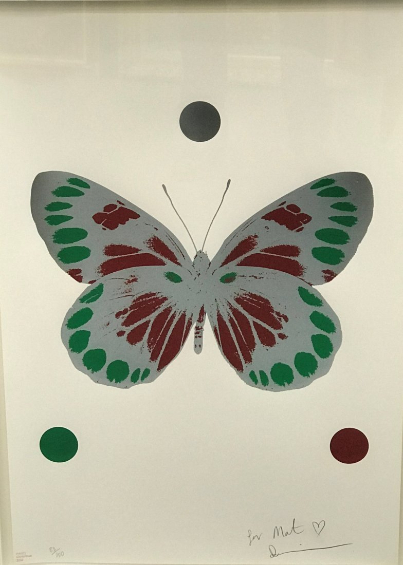 "Damien Hirst (1965-   ) British. ""Science Christmas - 6"