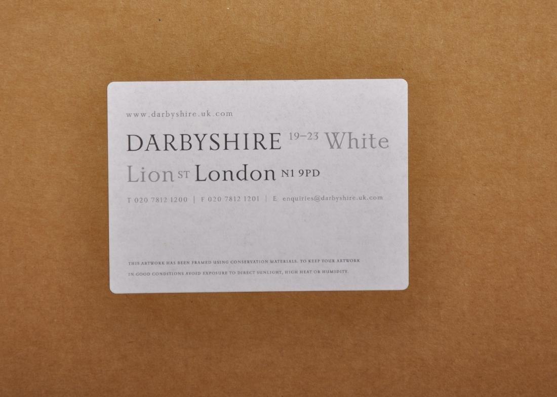 "Damien Hirst (1965-   ) British. ""Happy Christmas - 5"