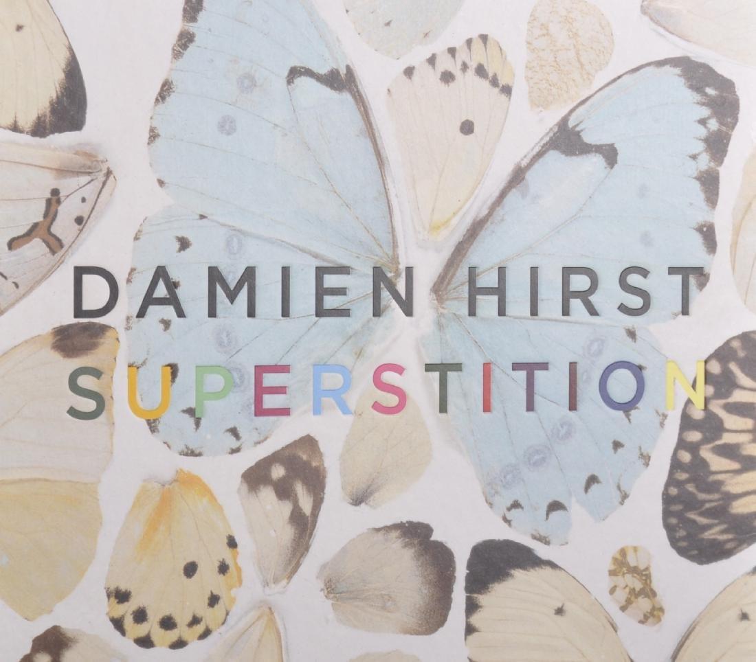 """Damien Hirst (1965-   ) British. """"Superstition"""", Book,"""