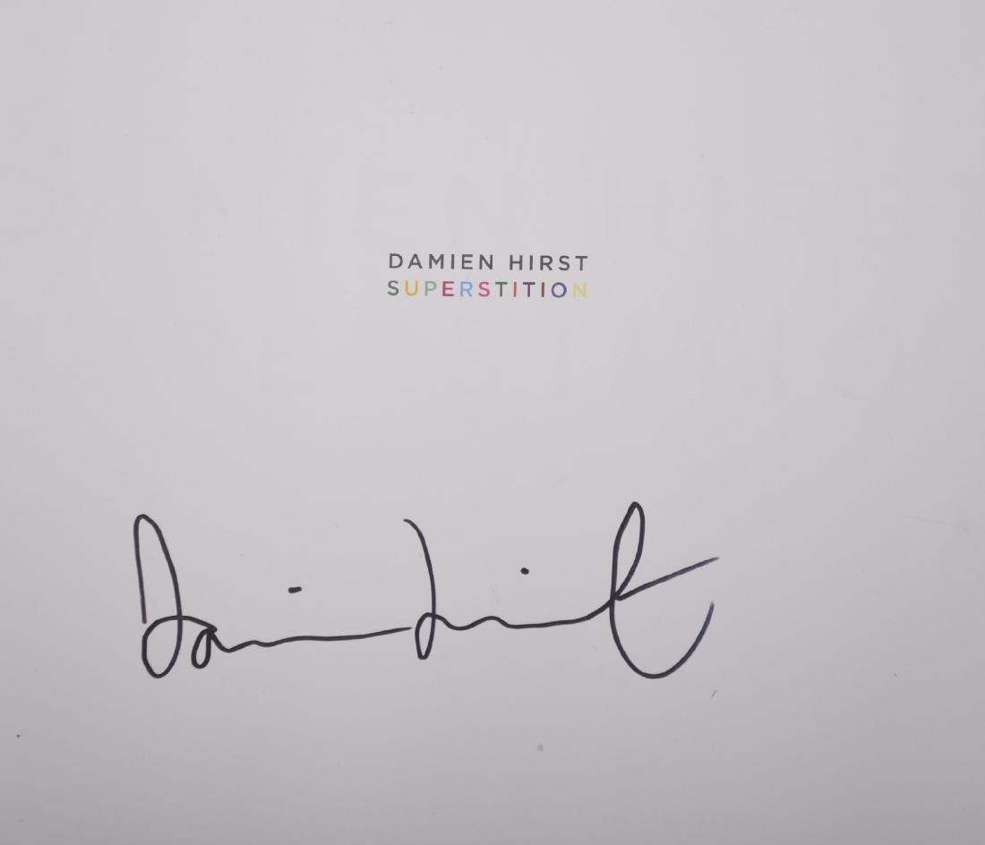 """Damien Hirst (1965-   ) British. """"Superstition"""", Book, - 4"""