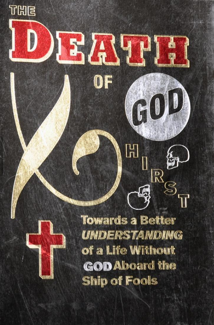 "Damien Hirst (1965-   ) British. ""The Death of God"","