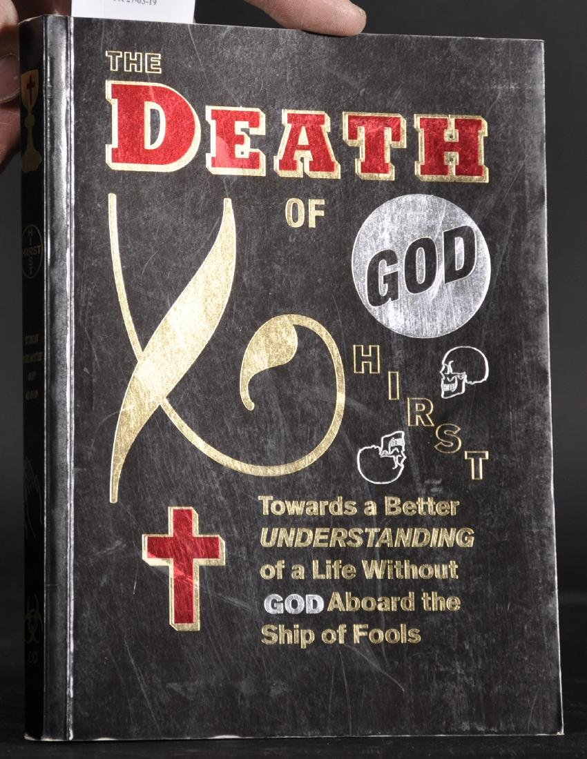 "Damien Hirst (1965-   ) British. ""The Death of God"", - 2"