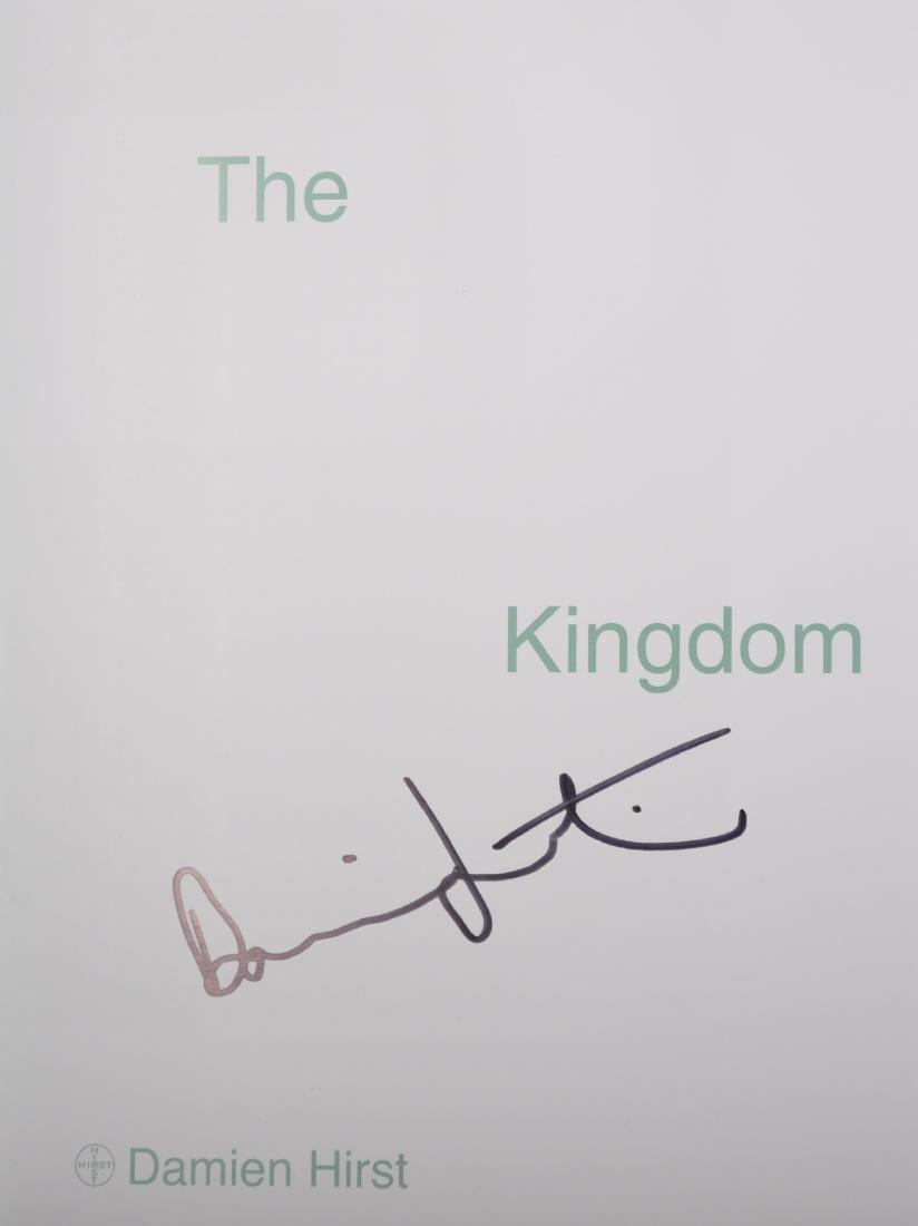 """Damien Hirst (1965-   ) British. """"The Kingdom"""", - 4"""