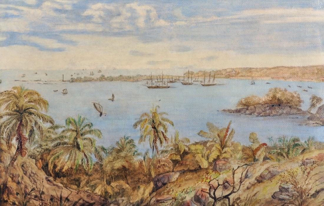 19th Century European School. A Coastal Scene in the