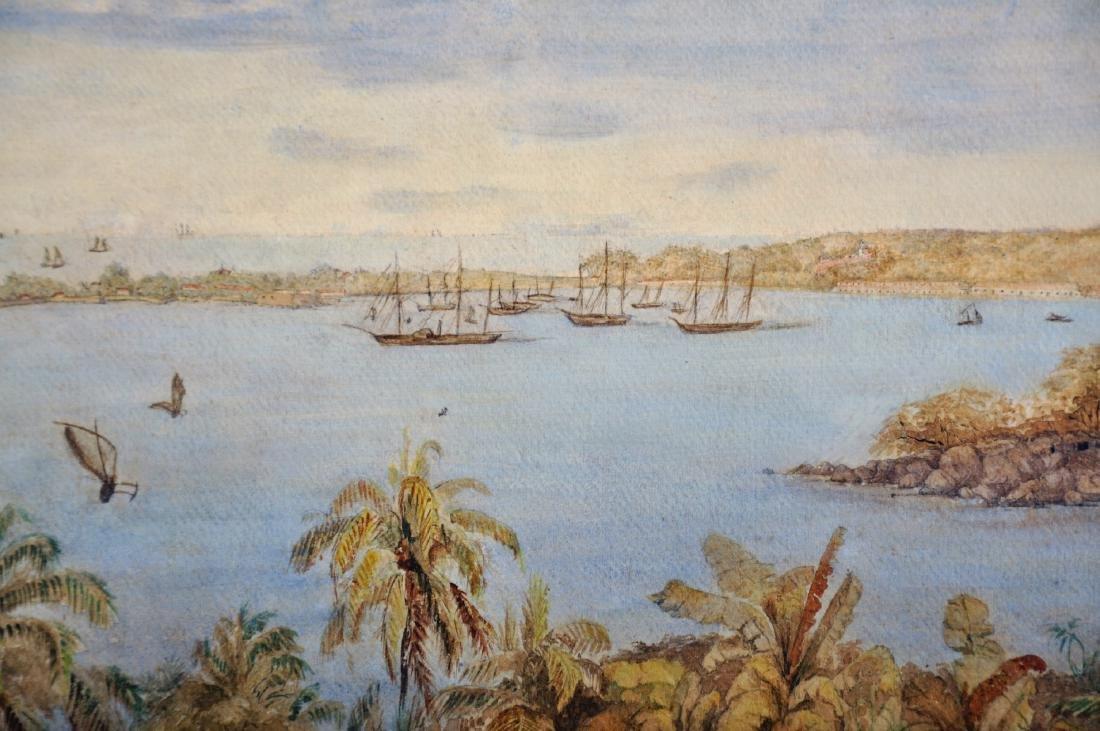19th Century European School. A Coastal Scene in the - 3