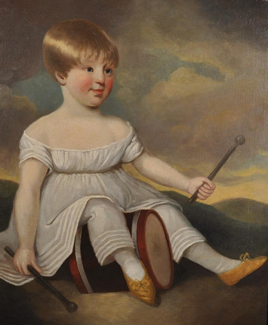 Early 19th Century American School. A Young Child with