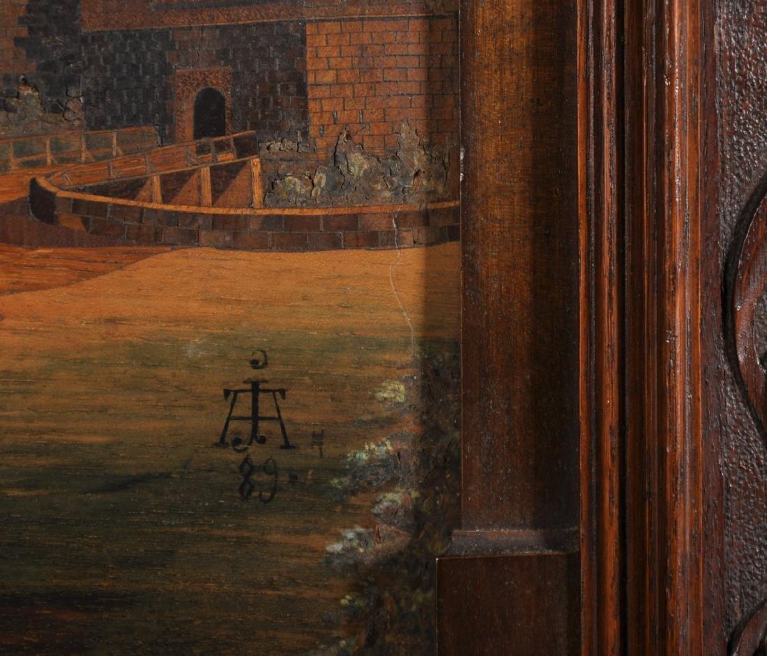 19th Century Dutch School. A Continental Town Scene, - 3