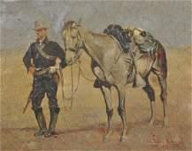 Manner of Frederic Sackrider Remington (1861-1909)