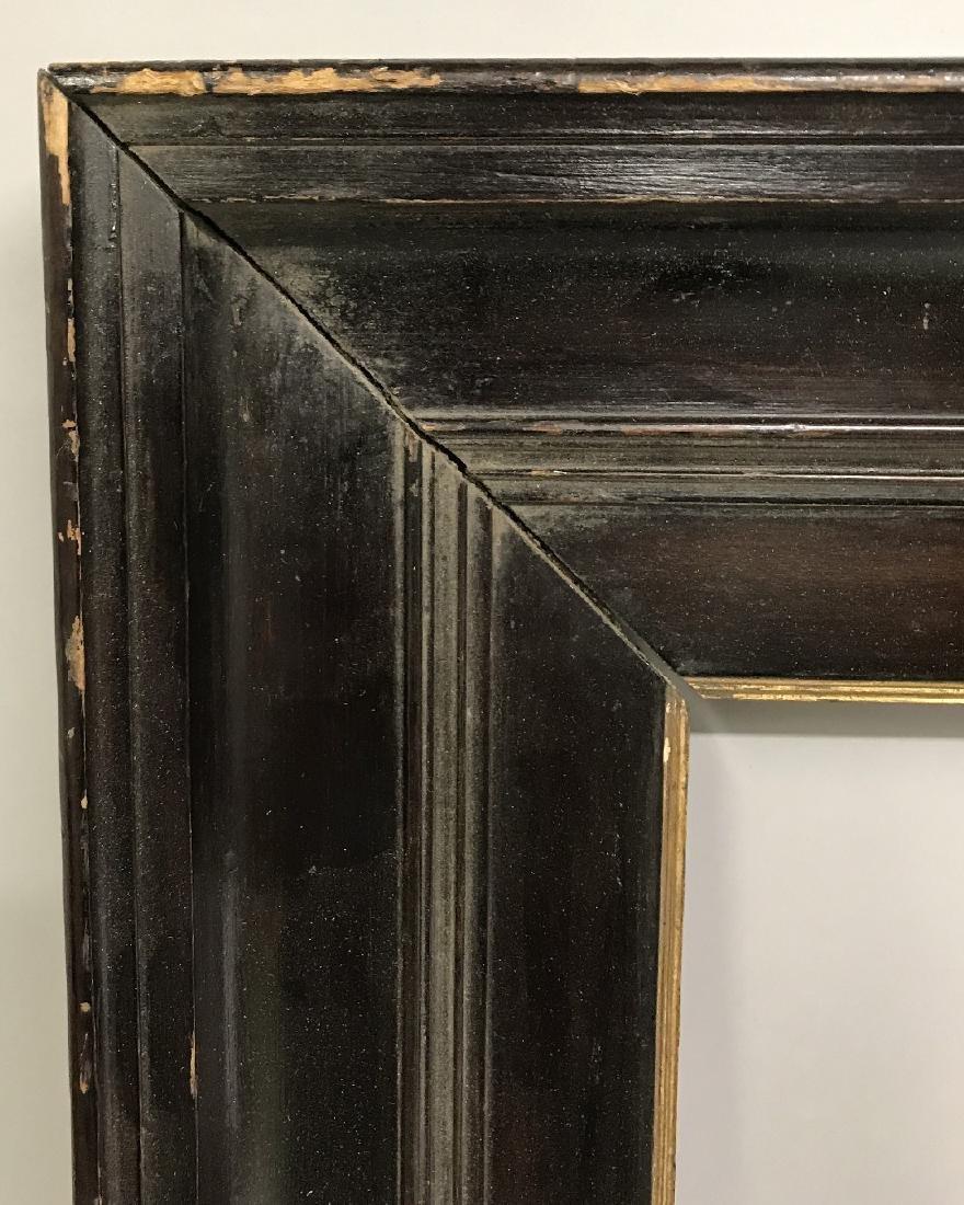 19th Century Dutch School. A Dark Wood Frame, with Gilt